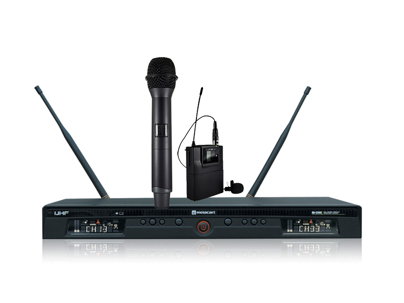 DALE GmbH - UR-220D Relacart UHF Dual-channel Wireless